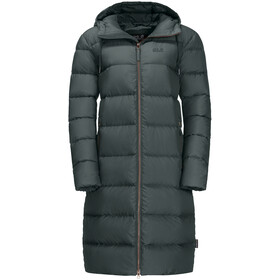 Jack Wolfskin Crystal Palace Manteau Femme, greenish grey